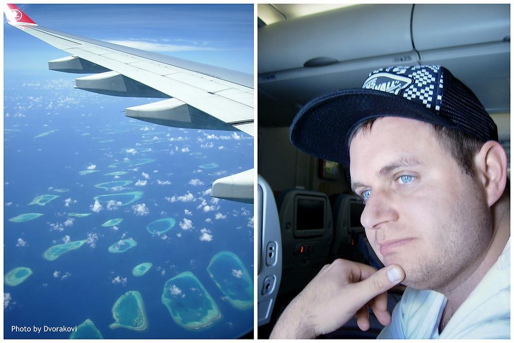 Landing - Přistání na Maledivách