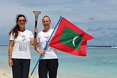 Peace Run, Maledivy