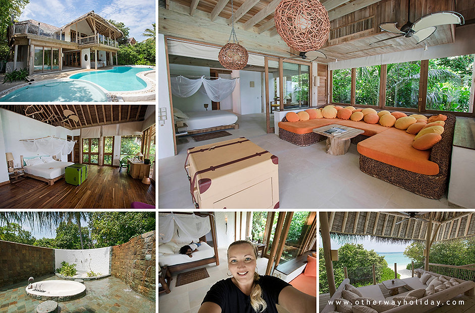 Soneva Fushi, Family Villa with Pool, Ma