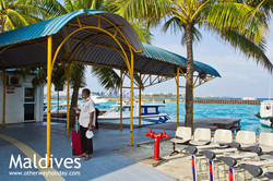 Flickr - Ibrahim Nasir International Airport, Arrival Jetty (Ferry from Male'),