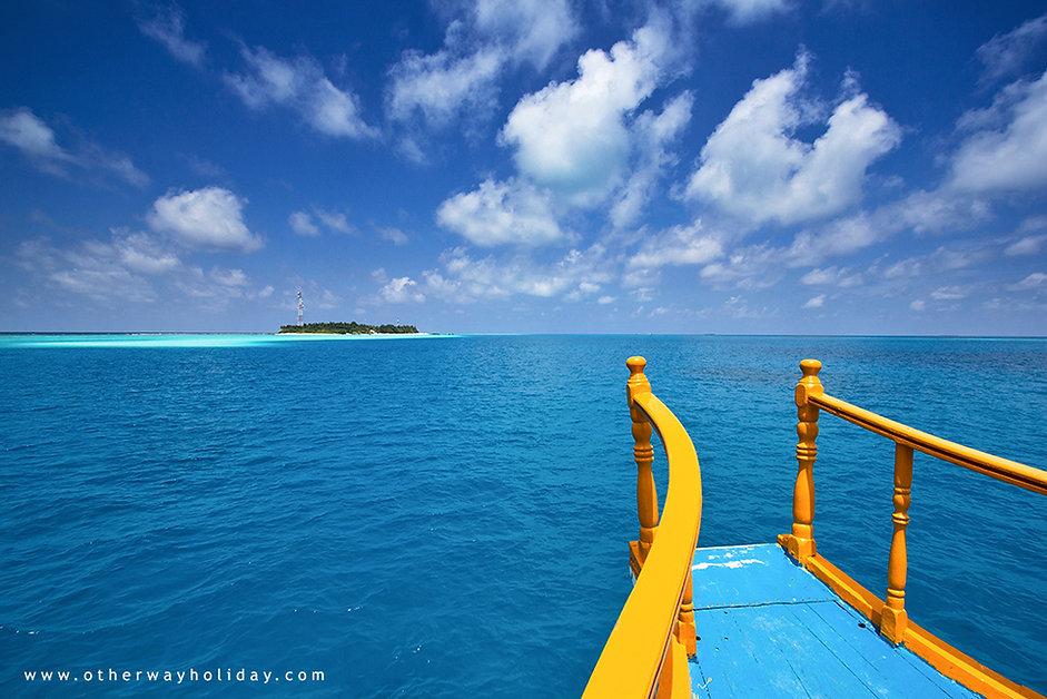 Veřejný trajket na obydlené ostrovy, Maledivy