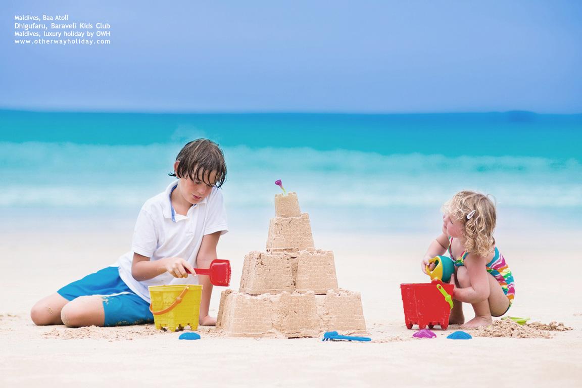 Dhigufaru Island Resort, Baa Atoll, Maldives - Baraveli Kids Club
