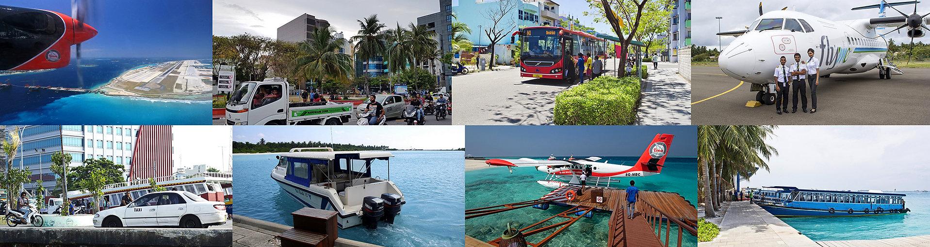 Doprav na Maledivách