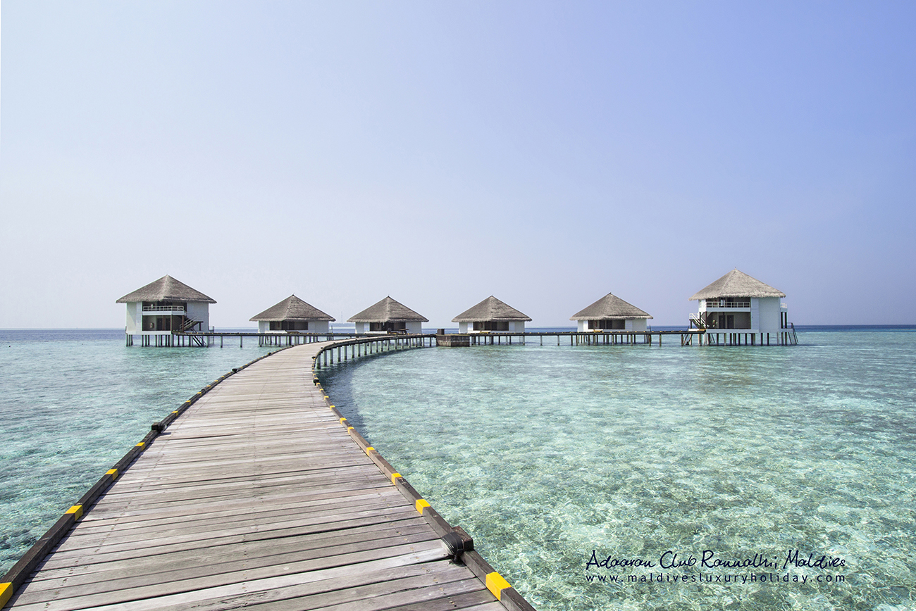 Water Bungalows, Adaaran Club Rannalhi, Kaafu Atoll, Maldives