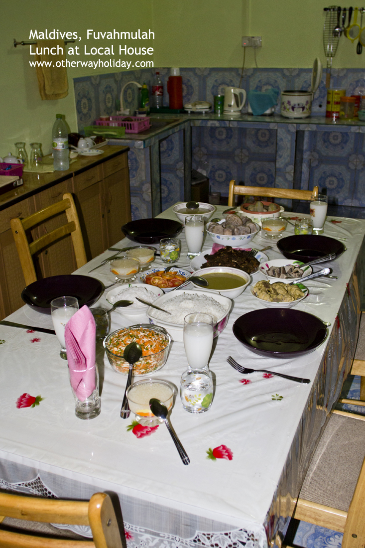 Flickr - Typicial Maldivian Lunch at Local House