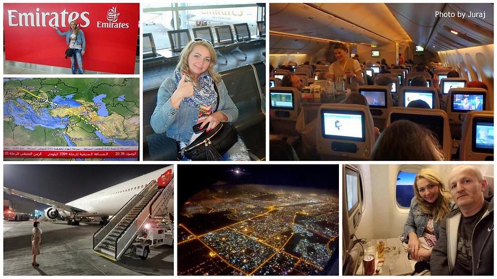 Emirates, cesta na Maledivy