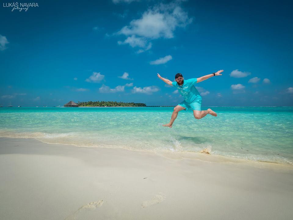 6. Dhiffushi, Maledivy