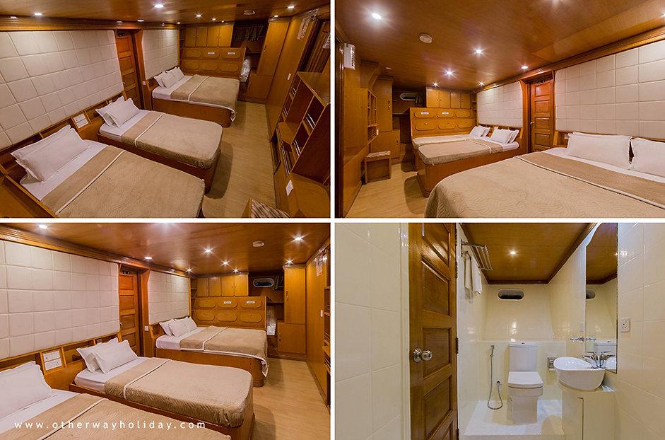 Maldives Explorer, Family cabine, Maledivy