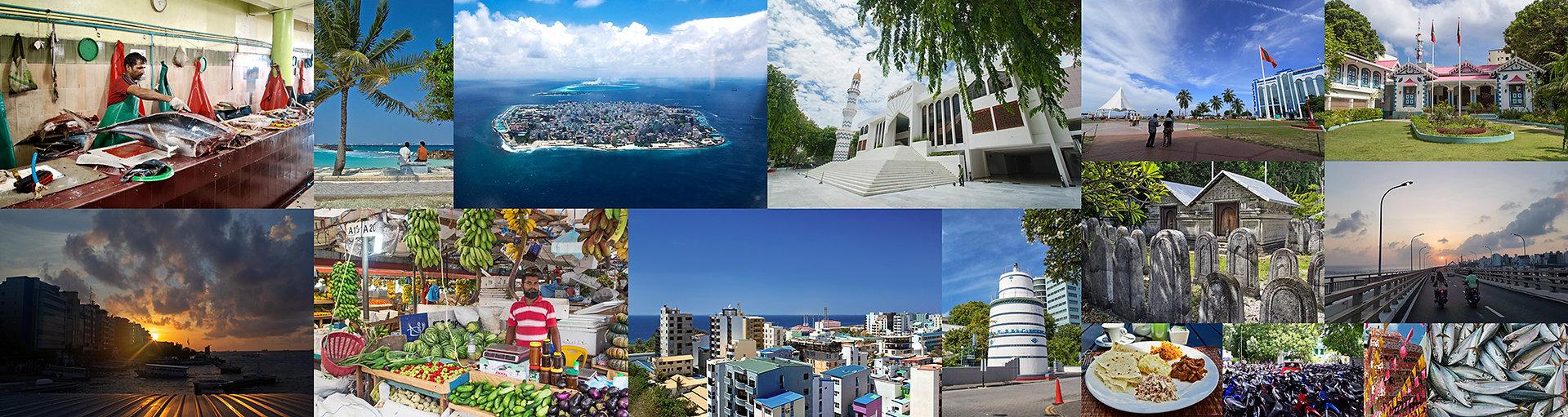 Hlavní město Male, Maledivy