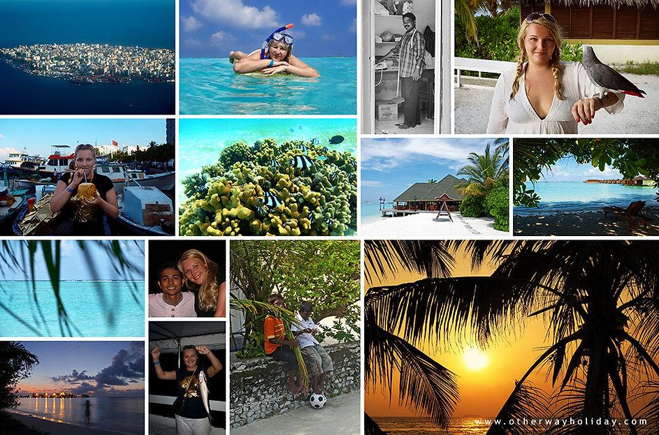 Lucie Mohelníková, Paradise Island, Maledivy