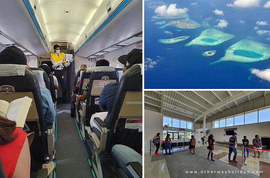 Vnitrostátní let, Maledivy Covid-19.jpg