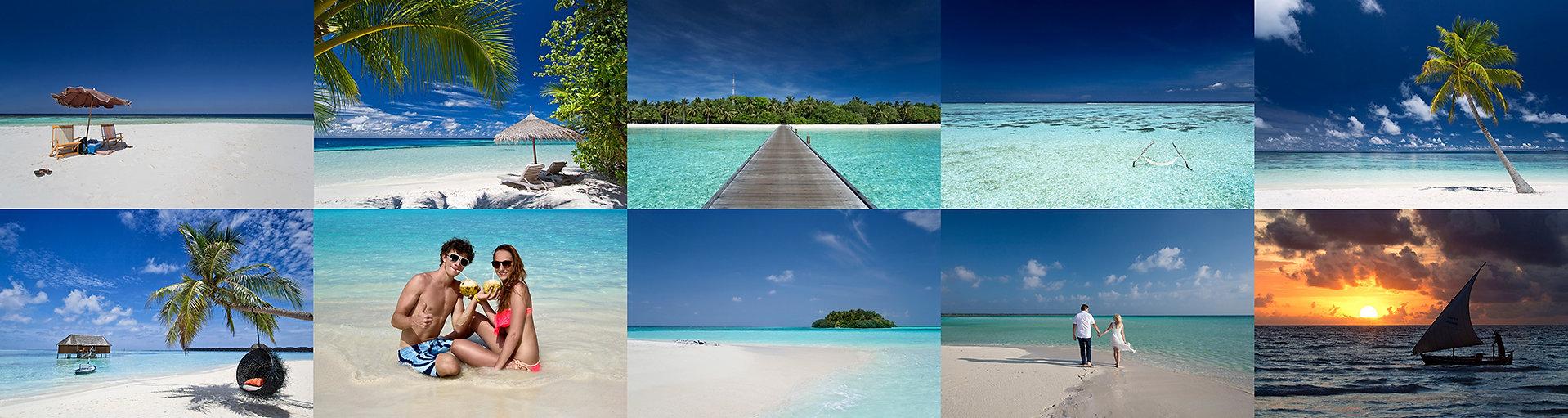 Dovolená na Maledivách bez dětí.