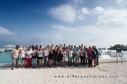 Účastníci Malediv s Lucií