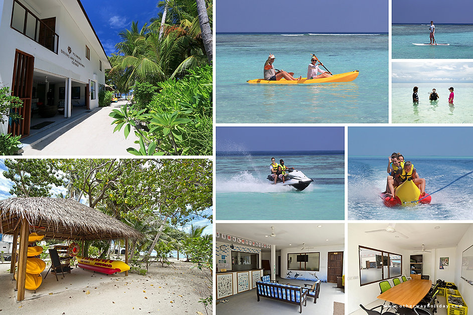 Diving & Watersports, Plumeria Maldives,