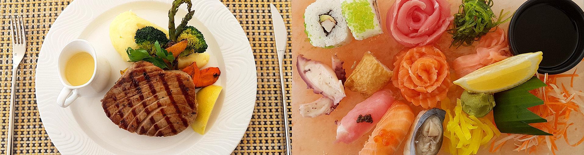 Tuňák žlutoploutvý, Maledivy, sushi, sas