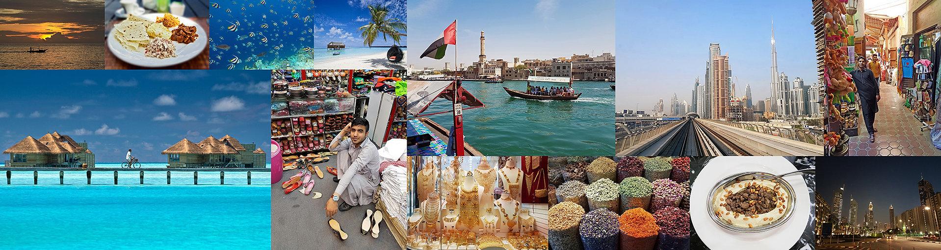 Poznávací zájezd Maledivy a Dubaj