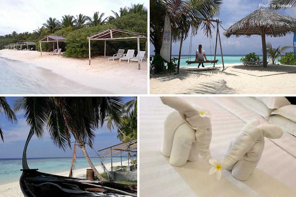 Thinadhoo a hotel Plumeria Maldives na Vaavu atolu na Maledivách.