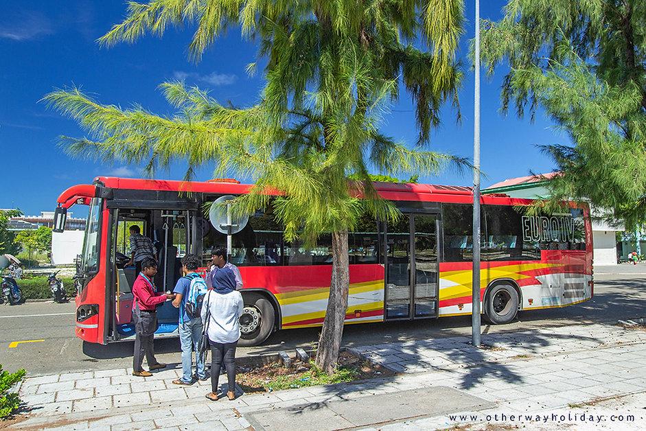 Pronájem autobusu na Maledivách