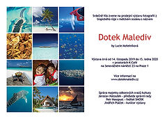 Výstava fotografií Dotek Malediv, K-Café