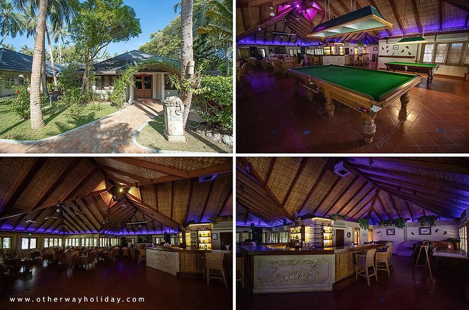 Royal Island Resort & Spa, Chameleon Fun Fub, Baa ato
