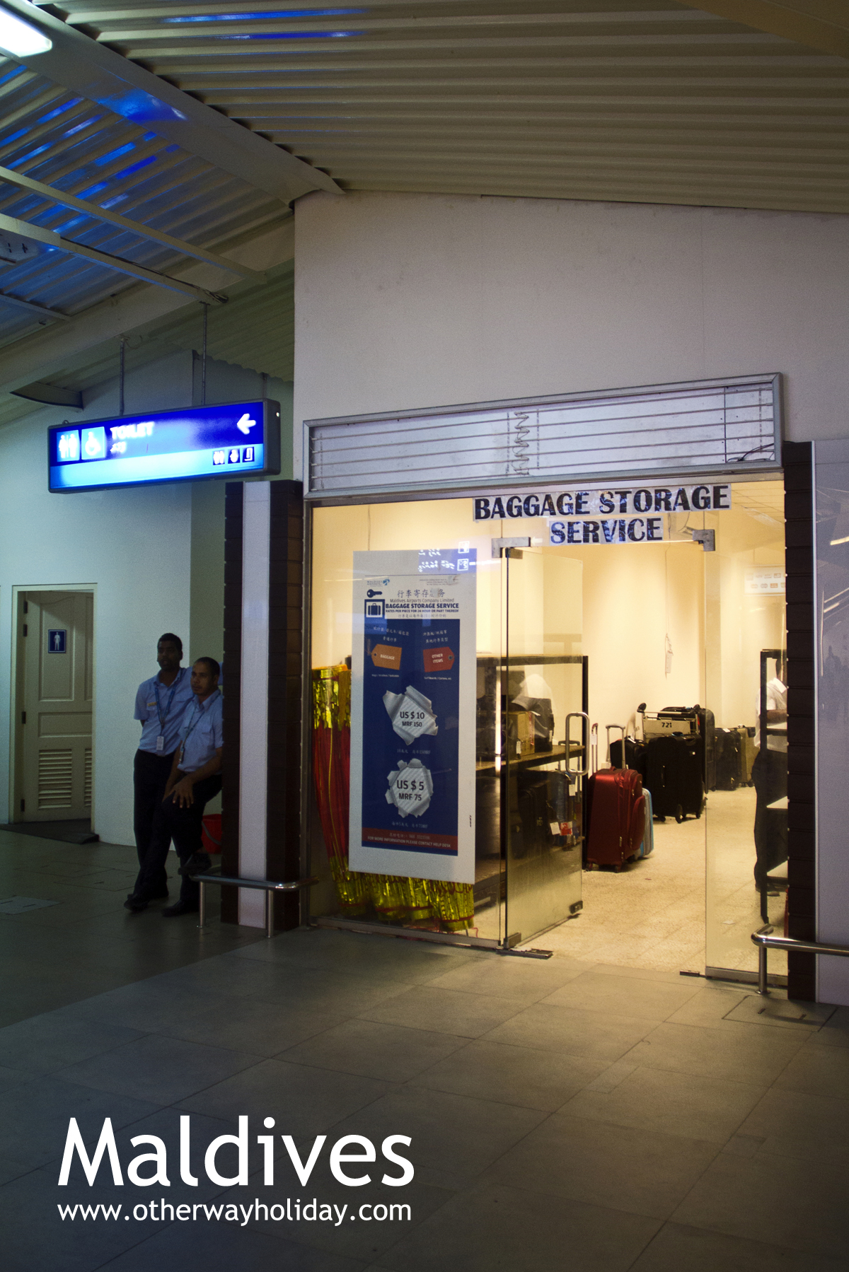 Flickr - Ibrahim Nasir International Airport, Arrival Hall, January 2014