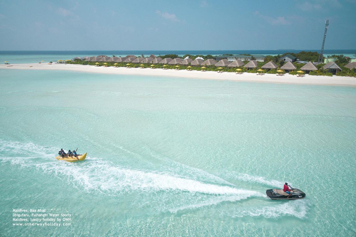 Dhigufaru Island Resort, Baa Atoll, Maldives - Fulhangi Water Sports