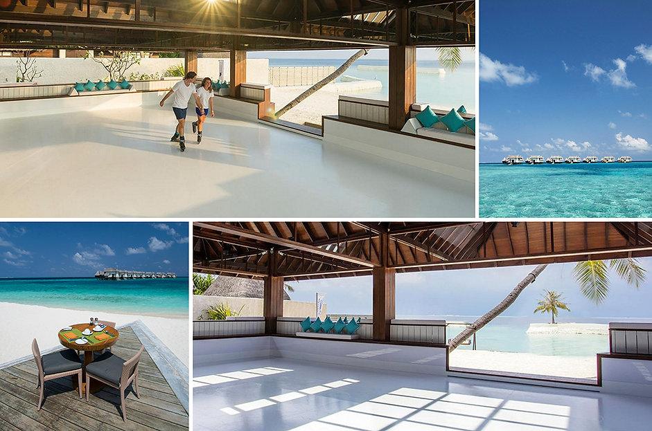 Ice Ice Maybe, Jumeirah Vittaveli, Maledivy