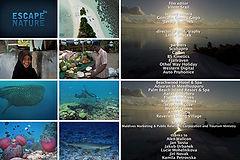 Útěk na Maledivy, Escape to Nature
