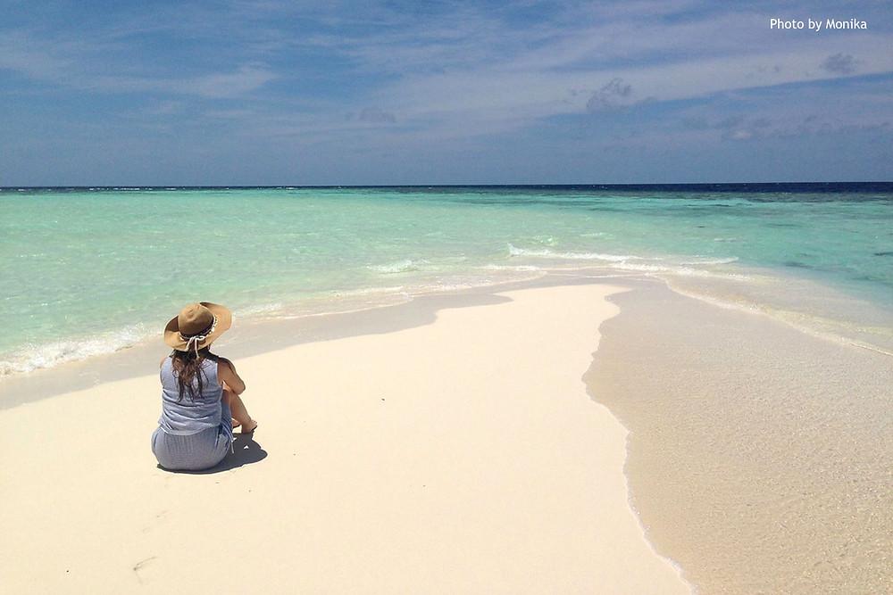 Bikini pláž, Omadhoo, Maledivy