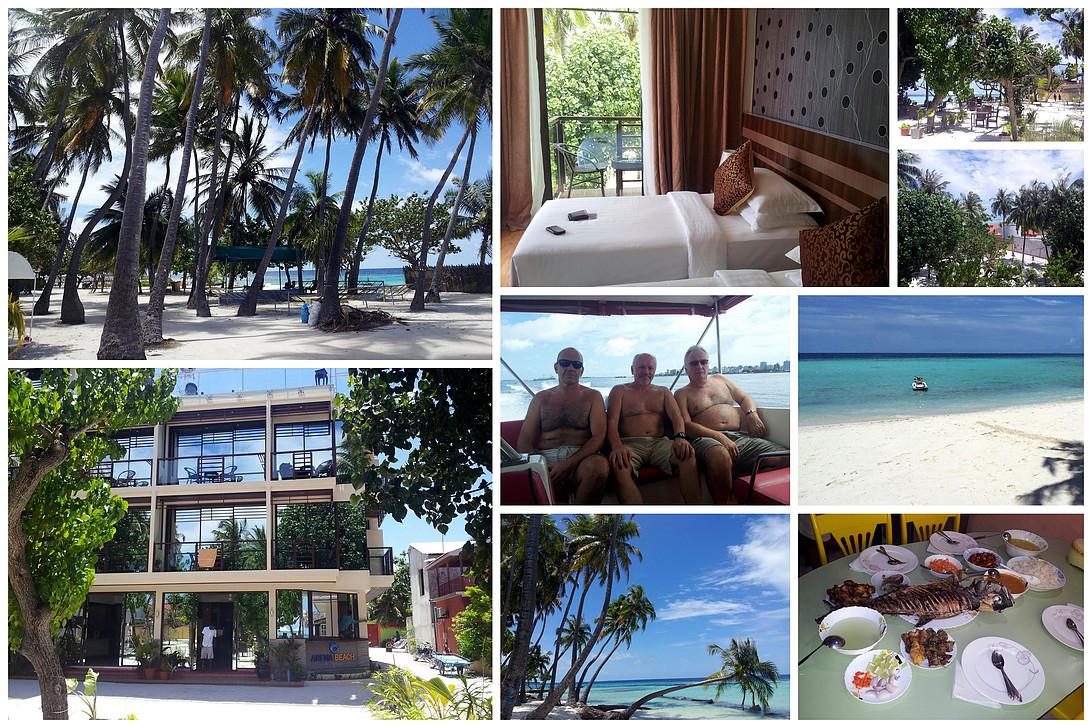 Maledivy, Maafushi, hotel Arena Beach