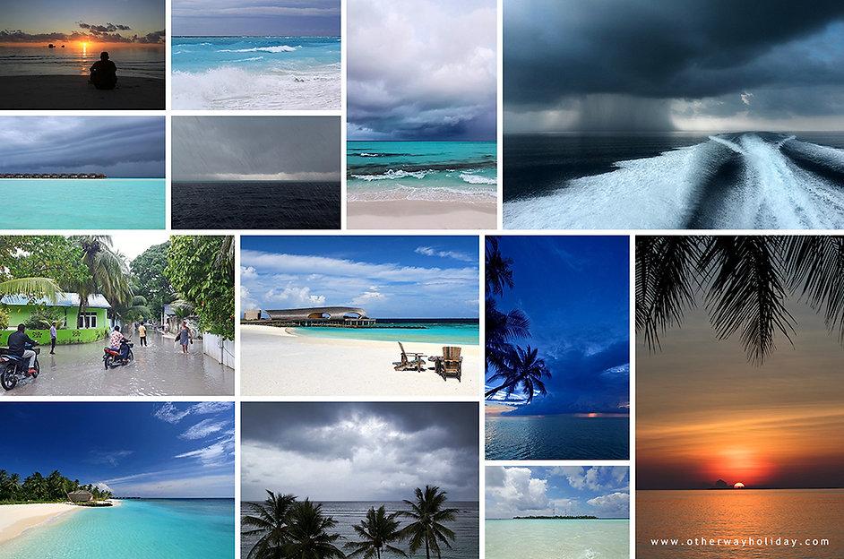 Počasí na Maledivách v létě