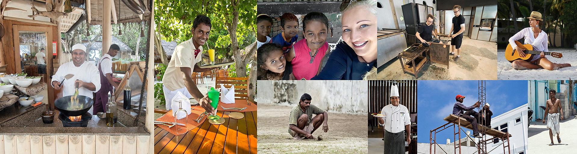 Život a práce na Maledivách
