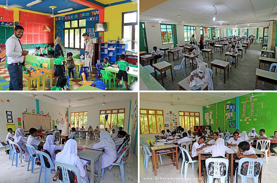 Exkurze do maledivské školy