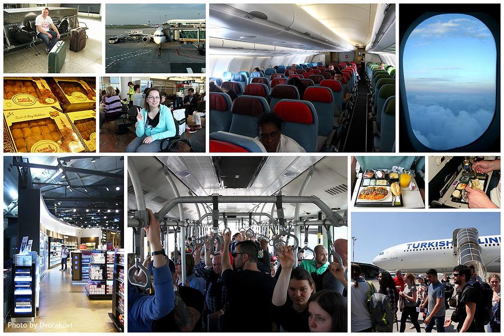 Turkish Airlines, Turkey, Prague
