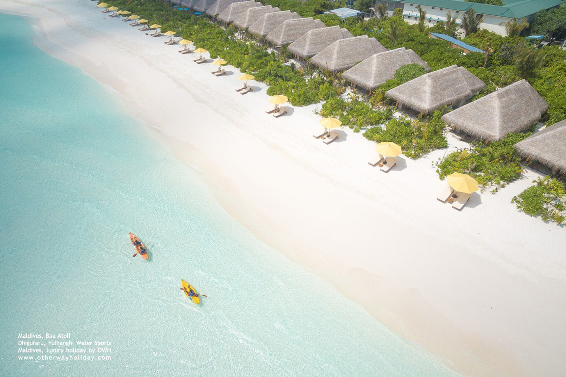 Dhigufaru Island Resort, Baa Atoll, Maldives-Fulhangi Water Sports