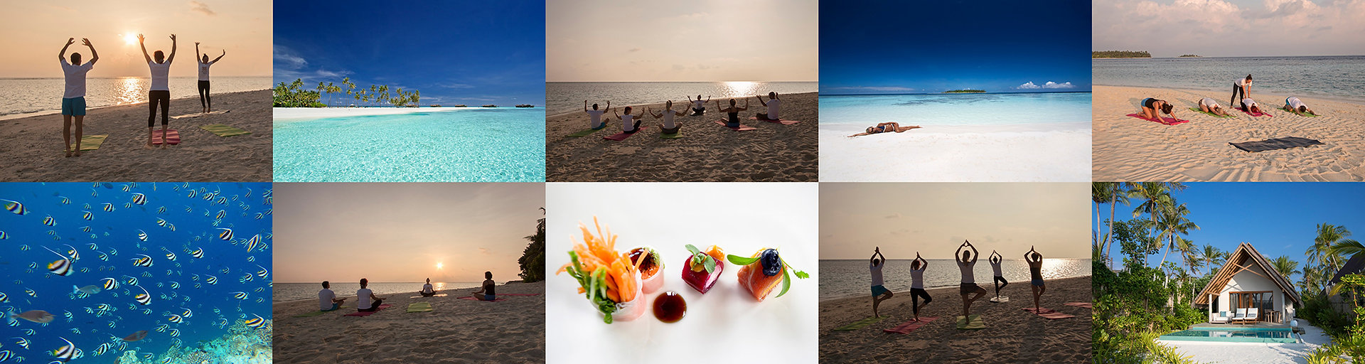 Pobyt na Maledivách s jógou, pilátes a cvičením
