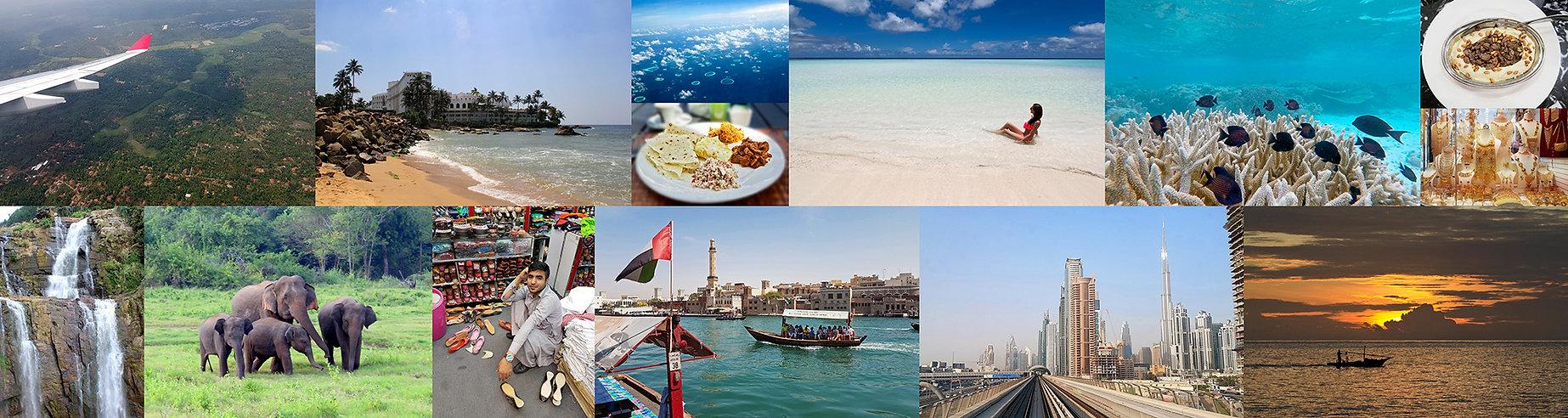 Letenky na Maledivy, letenky na Srí Lanku, letenky do Emirátů