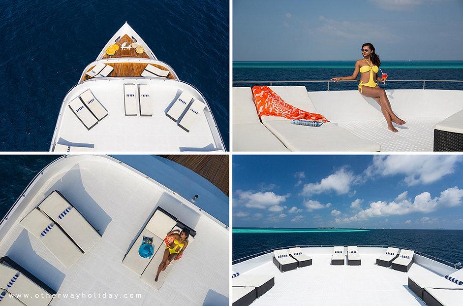 Maldives Explorer, Sun Deck, Maledivy
