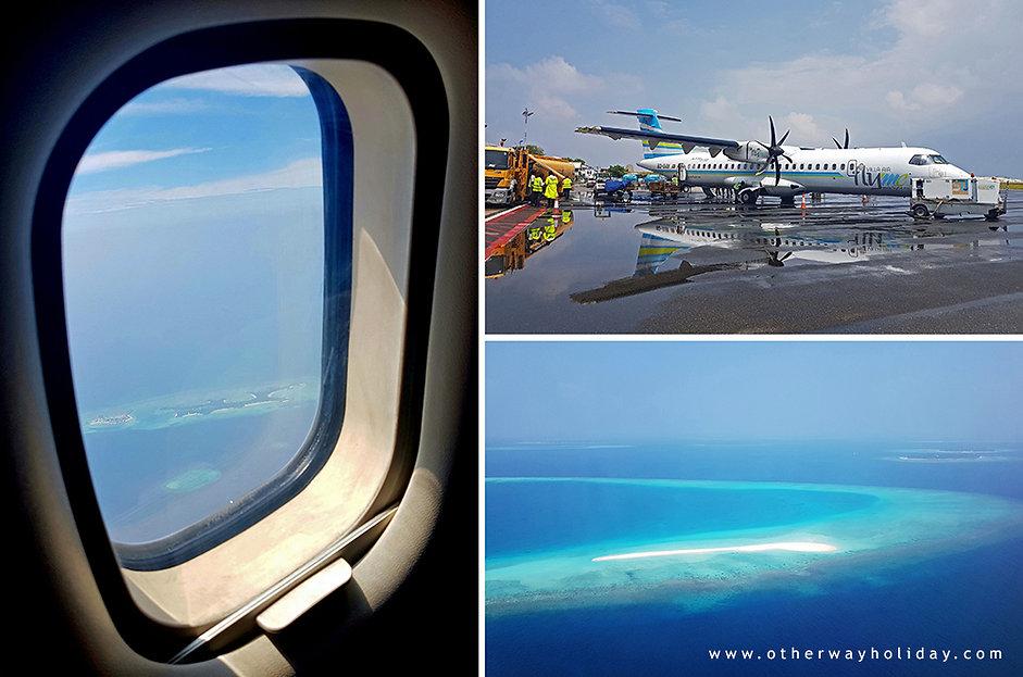 Vnitrotátní let na Dharavandhoo, Flyme, Villa Air