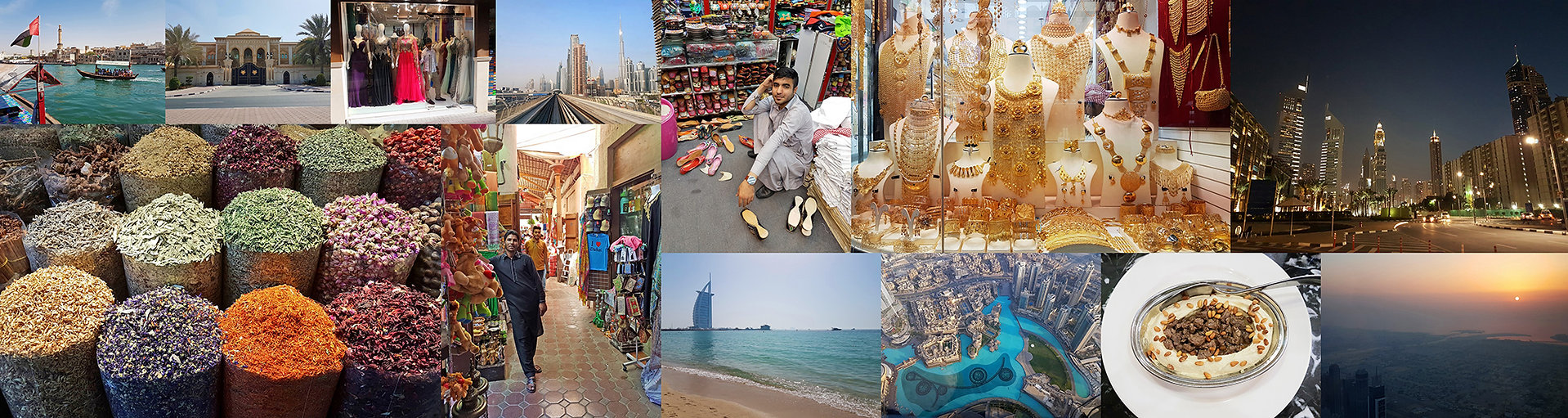 Poznávací zájezdy a dovolená ve Spojených arabských emirátech.