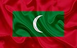 Maledivská vlajka, vlajka Malediv, vlajka Maledivské republiky