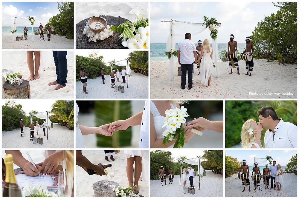 Svatba na Fehendhoo, Atholhu Residence, Maledivy