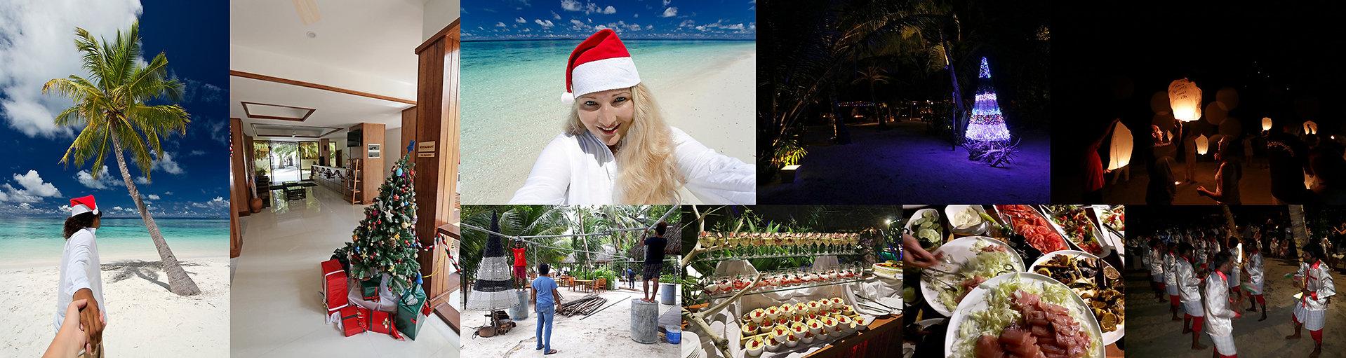 Vánoce a Silvestr na Maledivách