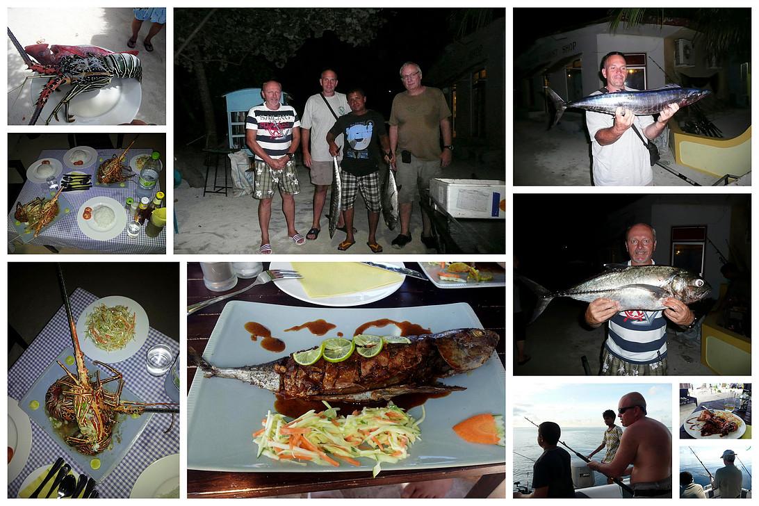 Maledivy, Maafushi, rybolov