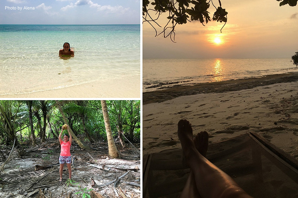 Pár momentů z Fehendhoo na Maledivách