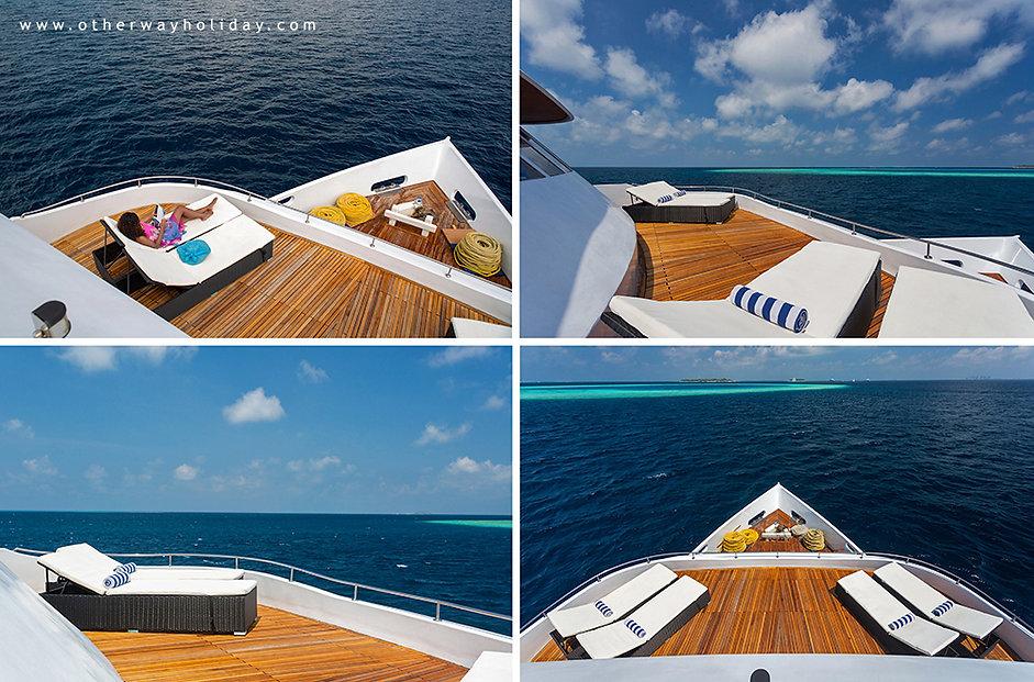 Maldives Explorer, Top Deck, Maledivy