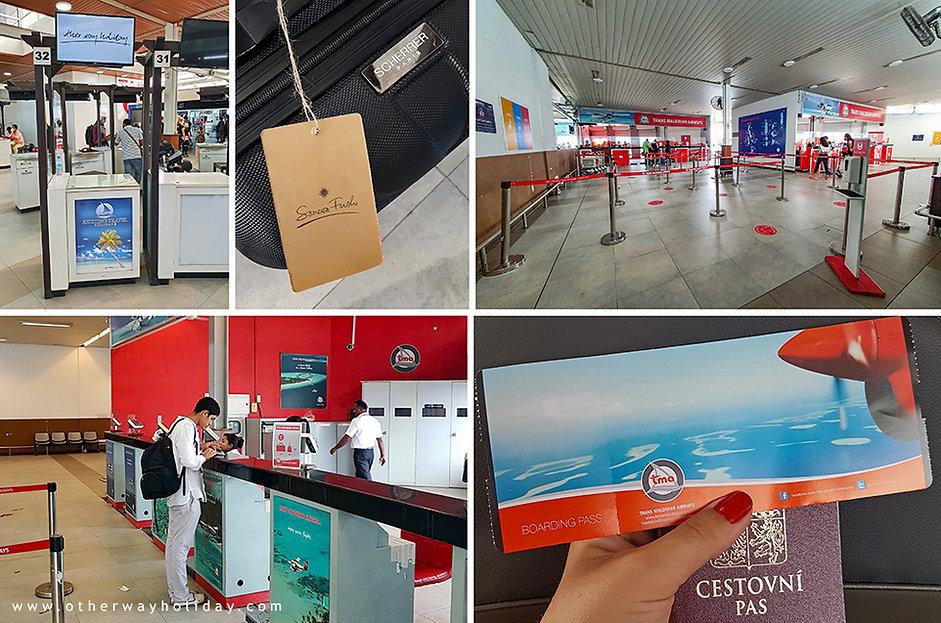 Uvítání na letišti a check-in hydroplánů na Maledivách.jpg