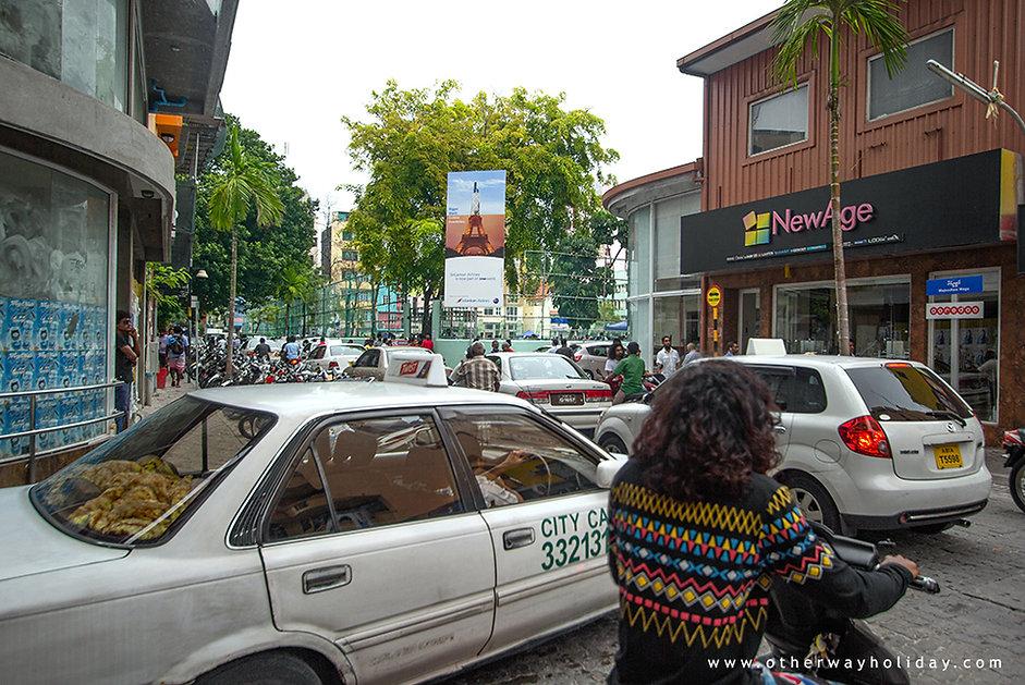 Pronájem automobilu na Maledivách