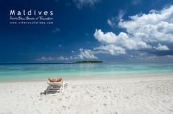 Bikini pláž na Thinadhoo