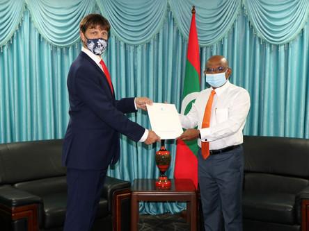 Jmenování honorárního konzula Jaromíra Kalčice na Maledivách
